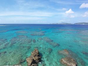 渡嘉敷島のケラマブルー
