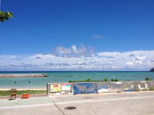 渡名喜島のビーチ