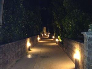 渡名喜島の夜のお散歩