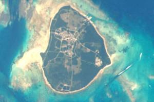 竹富島の航空写真(wikipediaより)