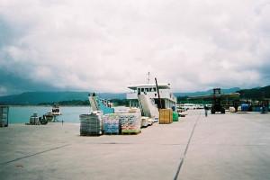 西表島上原港の写真(wikipediaより)
