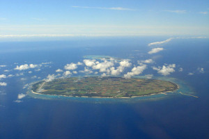 多良間島の航空写真(wikipediaより)