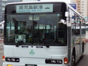 鹿児島のポートライナーバス