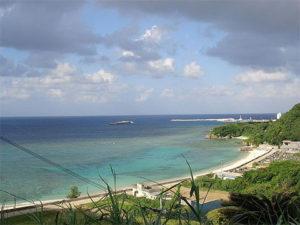 沖永良部島のビーチ
