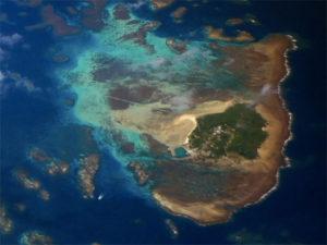 大神島の航空写真(wikipediaより)